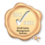 ESAB ISO 9001 Seal Yellow