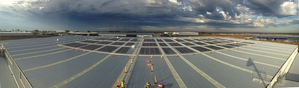 Commercial Solar Installation 300kW