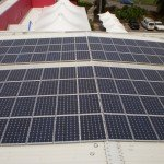 Brisbane Lions Solar power panels
