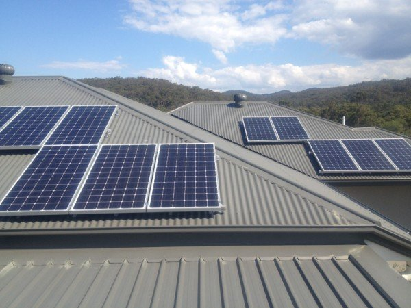 Bonogin 4kW Solar Installation