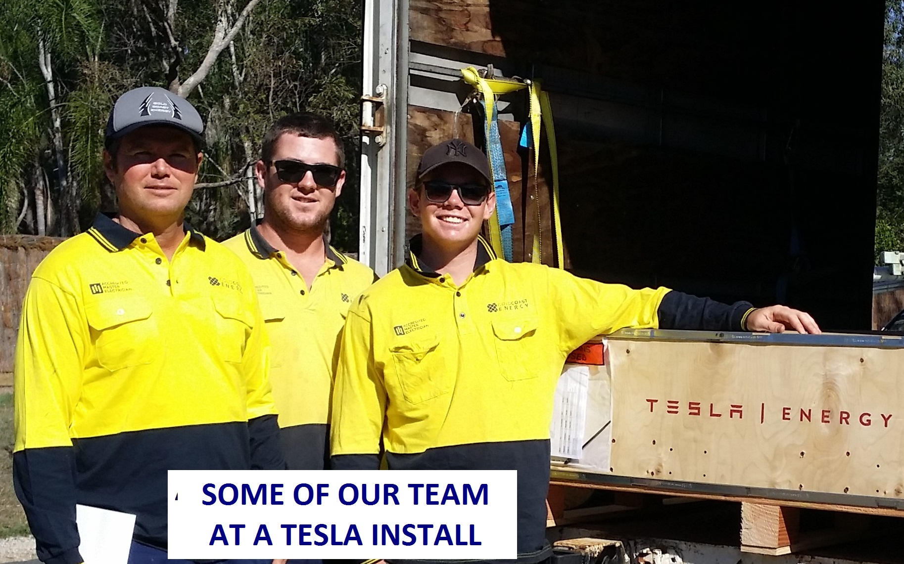 Gold Coast Energy Team tesla energy