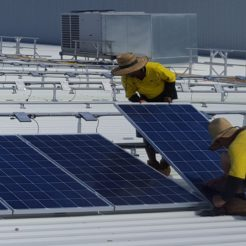 Gold Coast Energy solar power panel installation