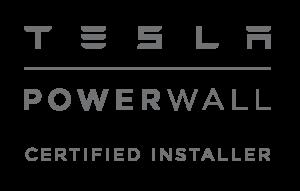 Certified Installer of Tesla Powerwall