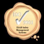 ESAB ISO 9001 Seal Yellow