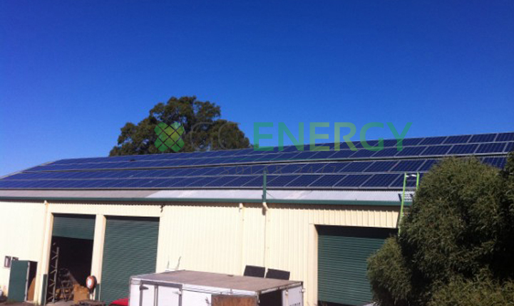 Abalone Aquasuits 30kW commercial solar installation