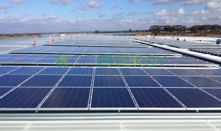 Country Road 300kW commercial solar installation