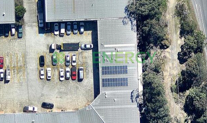 Australian Fuel Cells 10kW commercial solar installation