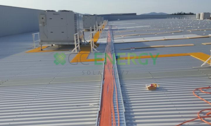 Bunnings Ballina 100kW commercial solar installation