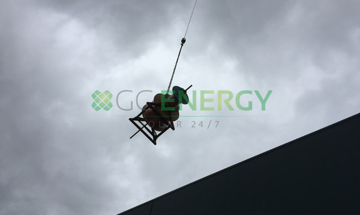 Bunnings Gympie 100kW commercial solar installation