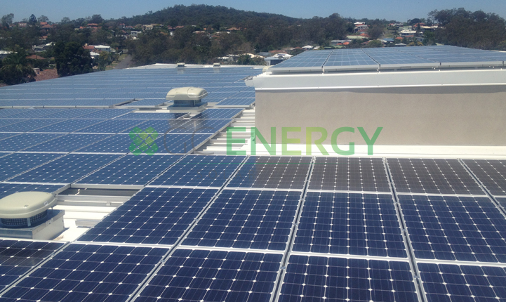 Casa D'Amore 100kW commercial solar installation