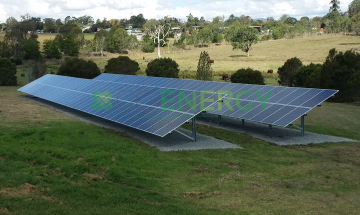 Qld Urban Utilities Beaudesert 40kW commercial solar installation