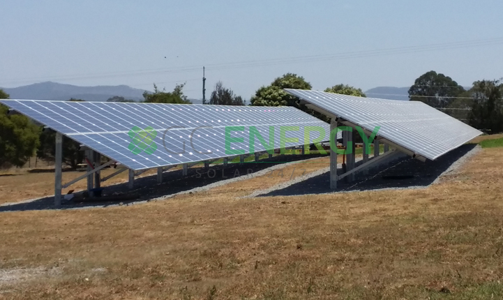 Qld Urban Utilities Beaudesert 40kW commercial solar installation
