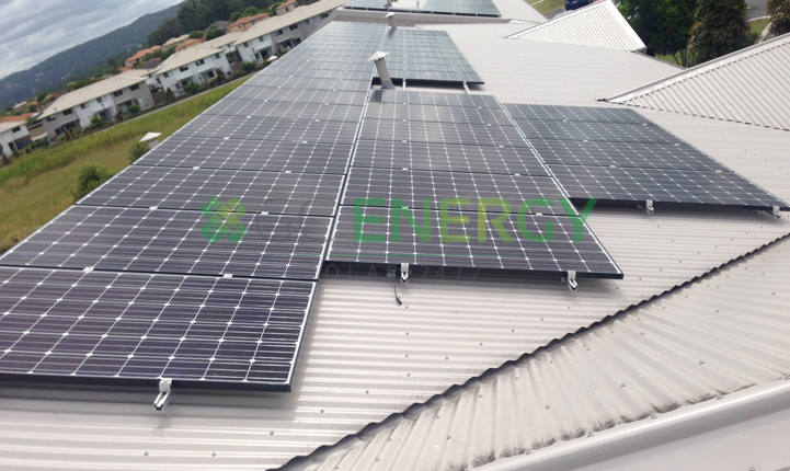 Superior Care Group 30kW commercial solar installation