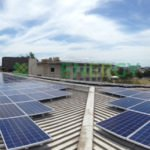 University of Queensland 110kW commercial solar installation