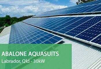 Abalone-Aqasuits Labrador Solar Installations