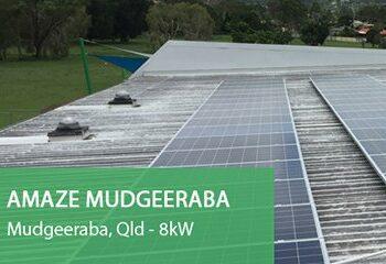 Amaze-Mudgeeraba Solar PV Gold Coast