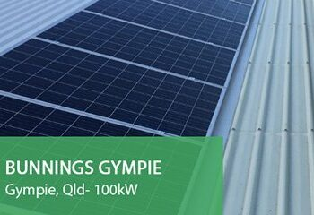 Bunnings-Gympie Commercial Solar Gold Coast