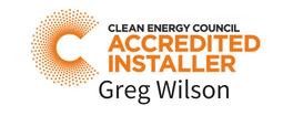 CEC Accredited Installer Greg Wilson