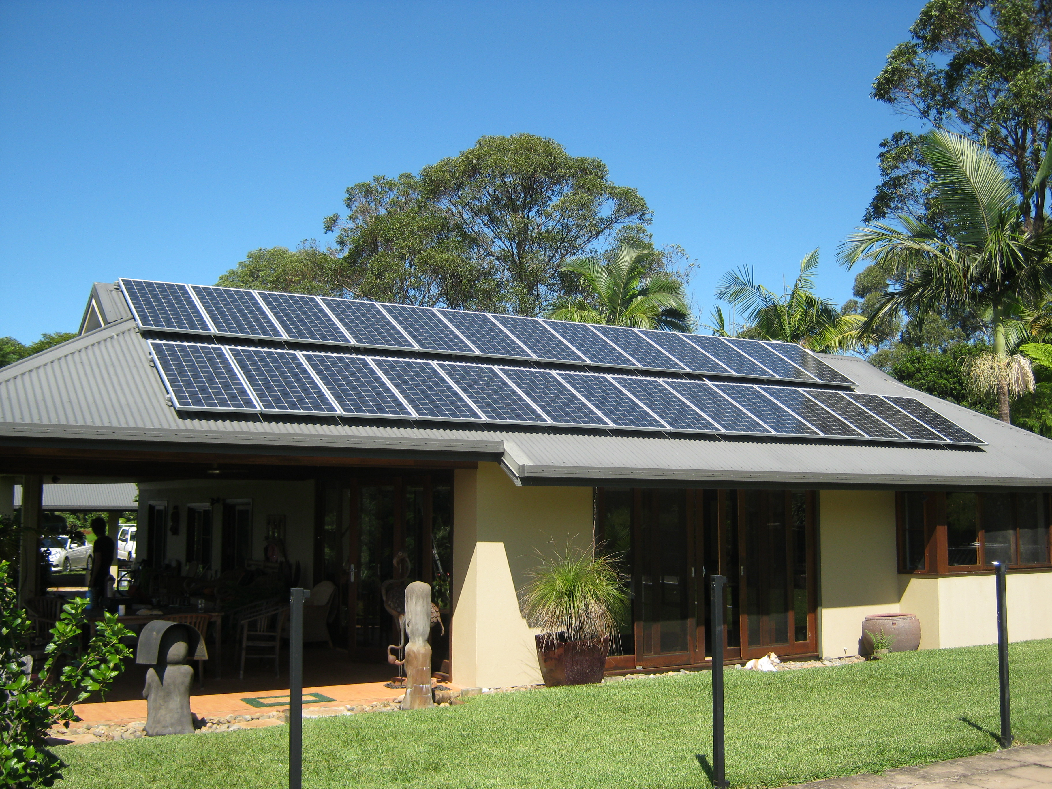 Residential Solar installation by Gold Coast Energy