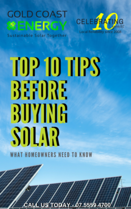 Gold Coast Solar 10 tips Before buying solar | Gold Coast Energy