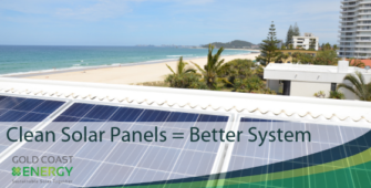 Clean Solar Panels | Gold Coast Energy