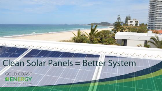 Clean Solar Panels | Gold Coast Energy