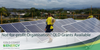 Queensland community grants title GCE